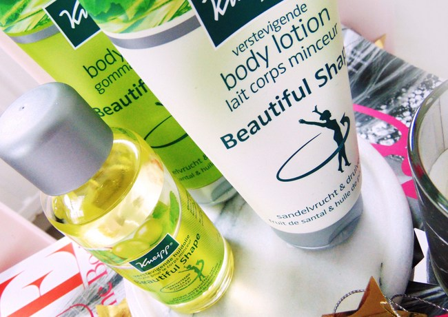 REVIEW: Kneipp 'Beautiful shape' productlijn