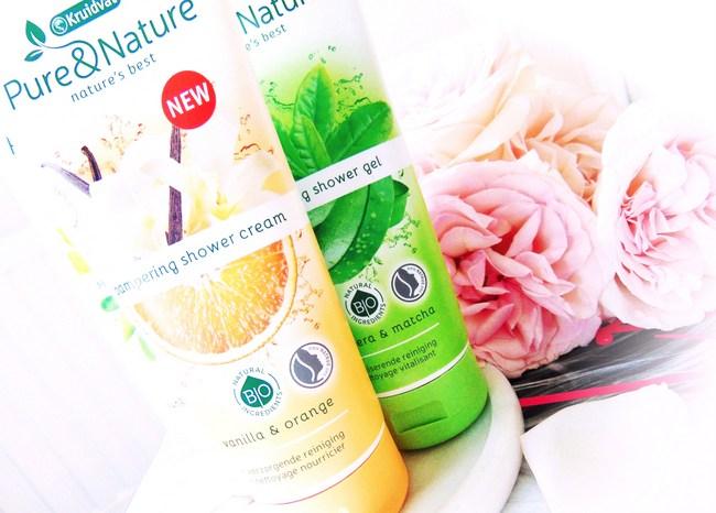 REVIEW: Kruidvat 'Pure & Nature' showergels & showercrème