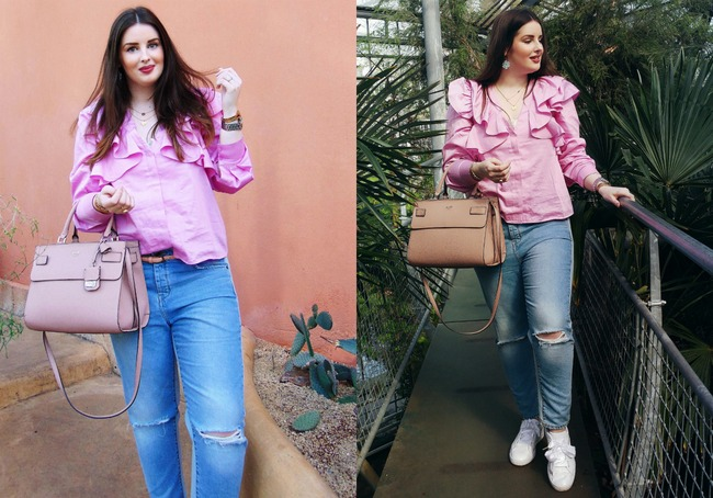 LOOK OF THE DAY: Romantic ruffles