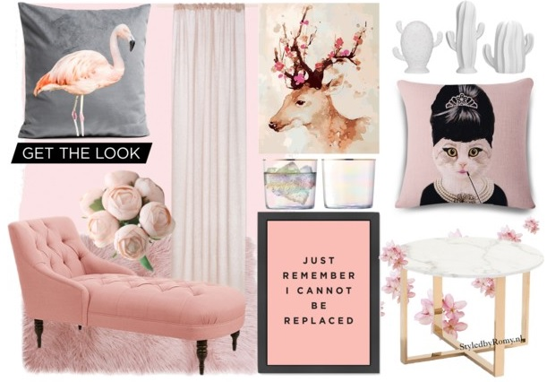 INTERIEUR: Think pink