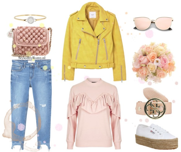 INSPIRATIEPOST: Yellow biker jacket