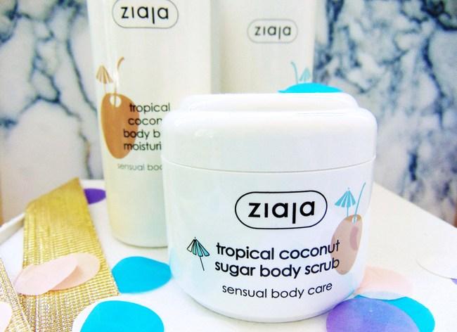 REVIEW: Ziaja Tropical coconut lijn
