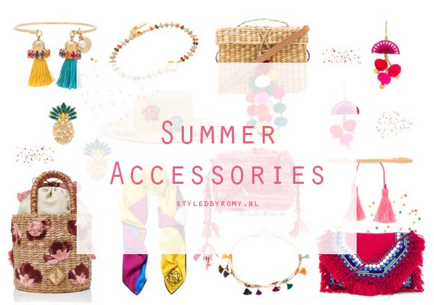 FAVORIETEN: Summer accessories