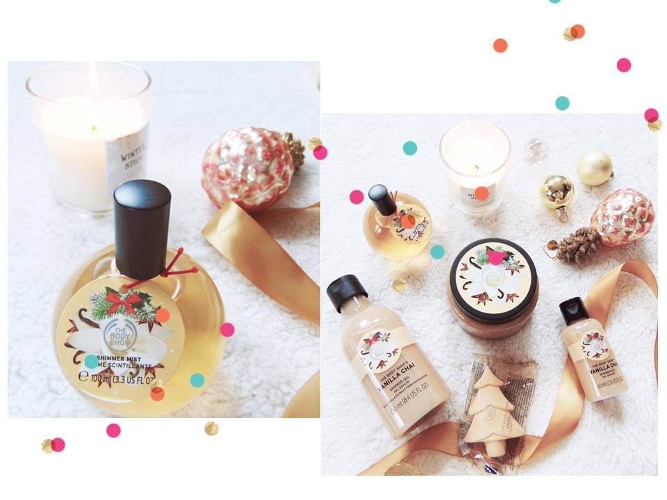 The Body Shop 'Vanilla Chai'-collectie