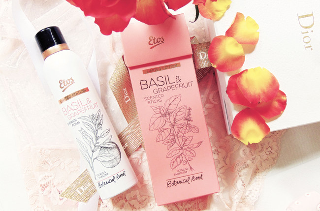 Etos Botanical Boost – Basil & Grapefruit collectie
