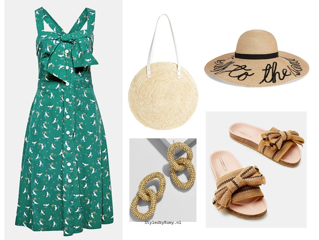 4 outfits, 4 zomerse gelegenheden