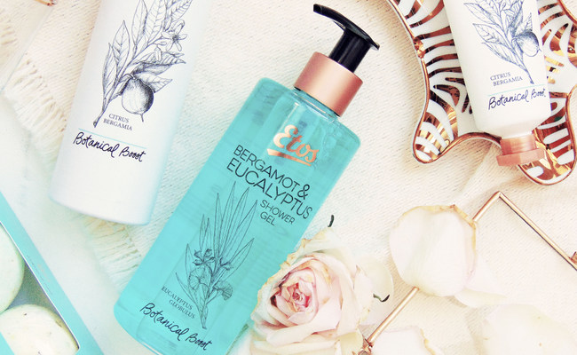 Etos Botanical Boost – Bergamot & Eucalyptus collectie